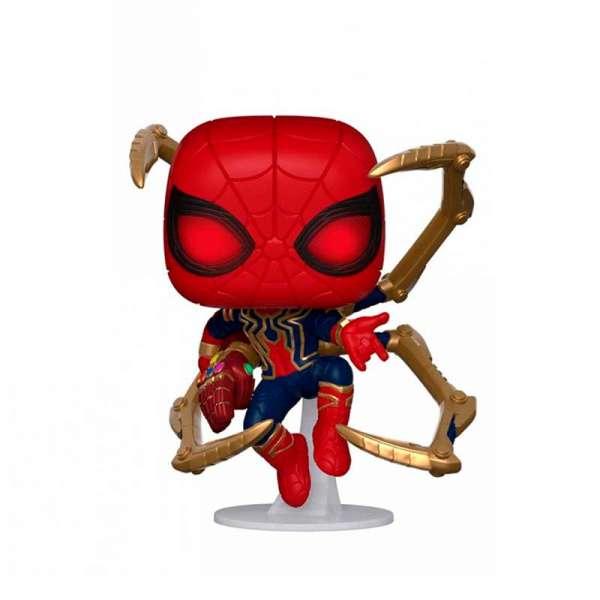 """Ігрова фігурка Funko POP! cерії """"Месники: Фінал"""" - Людина-Павук з нано-рукавицею"""