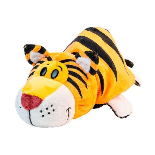 м'яка Іграшка З Паєтками 2 В 1 - ZooPrяtki - Слон - Тигр (30 Cm)