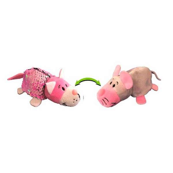 м'яка Іграшка З Паєтками 2 В 1 - ZooPrяtki - Кіт-Миша (12 Cm)