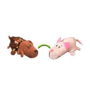 м'яка Іграшка З Паєтками 2 В 1 - ZooPrяtki - Лабрадор-Кіт (12 Cm)