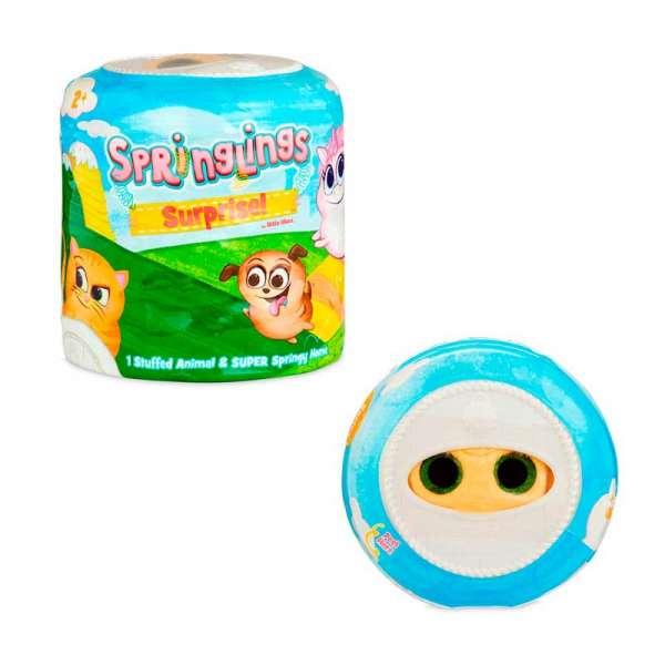 м'яка Іграшка-Сюрприз Springlings - Кумедні Звірята