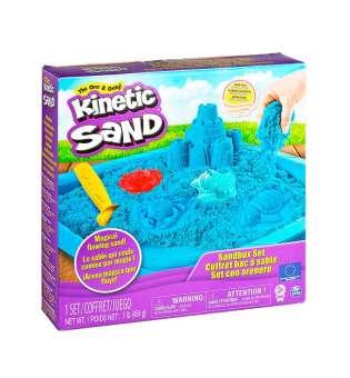 Набір Піску Для Дитячої Творчості - Kinetic Sand Замок З Піску (Блакитний)