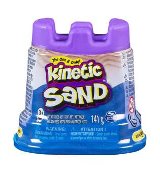 Пісок Для Дитячої Творчості Kinetic Sand Міні Фортеця (Блакитний)