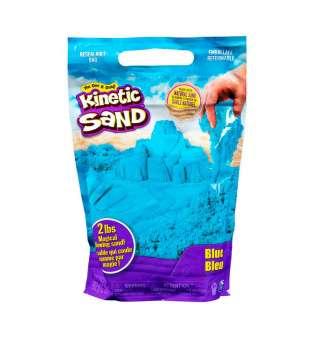 Пісок для дитячої творчості - KINETIC SAND COLOUR (синій, 907 g)