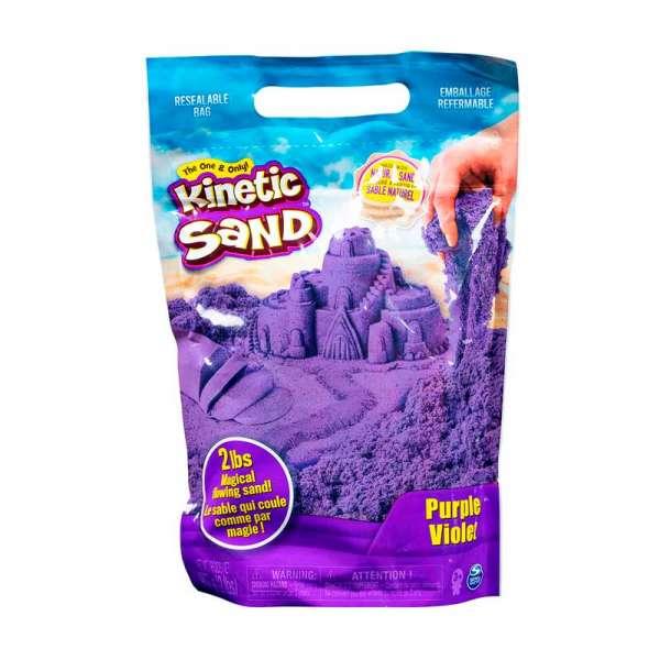 Пісок для дитячої творчості - KINETIC SAND COLOUR (фіолетовий, 907 g)