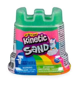 Пісок для дитячої творчості - KINETIC SAND МІНІ-ФОРТЕЦЯ (різнокольоровий, 141 g)