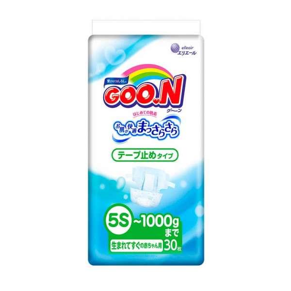 Підгузки Goo.N Для Немовлят З Малою Вагою (Розмір Sssss, До 1 Кг)