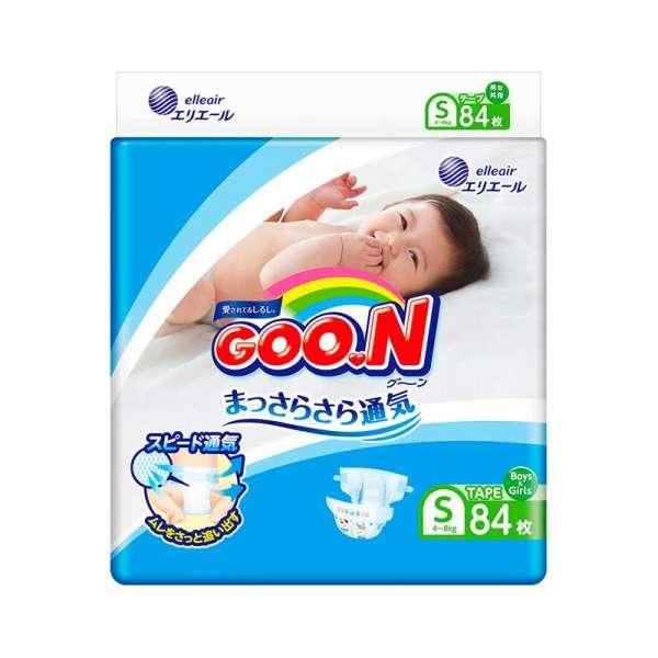 Підгузки Goo.N для дітей колекція 2020 (S, 4-8 кг)