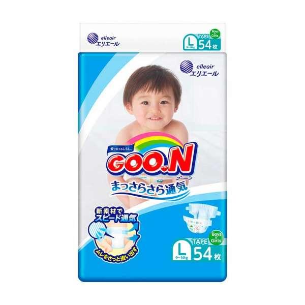 Підгузки Gоо.N для дітей колекція 2020 (L, 9-14 кг, 54 шт)