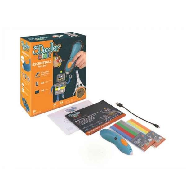 3D-ручка 3Doodler Start для дитячої творчості - Креатив (синя)