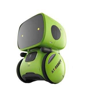 Інтерактивний Робот З Голосовим Керуванням – AT-Robot (Зелений)