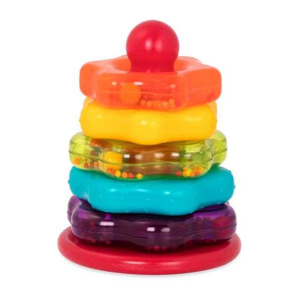 Розвиваюча Іграшка - Кольорова Пірамідка new
