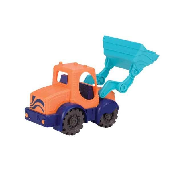 Іграшка Для Гри З Піском - Міні-Екскаватор (Колір Морський-Мандариновий-Океан)