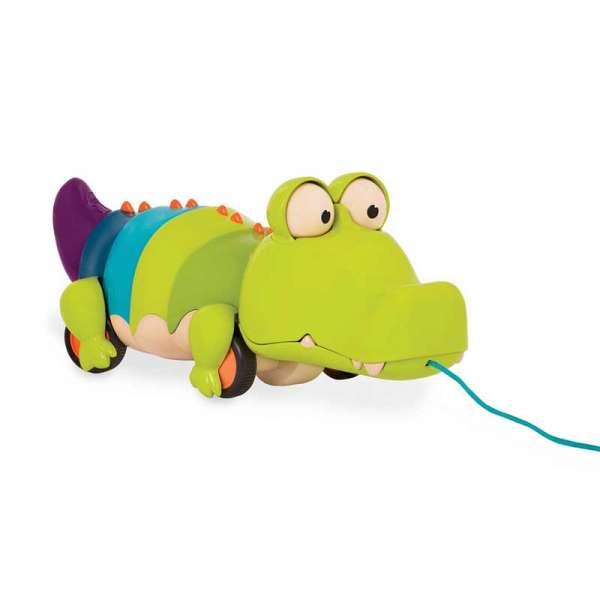 Іграшка-Каталка На Мотузочку - Крокодил Клац-Клаус