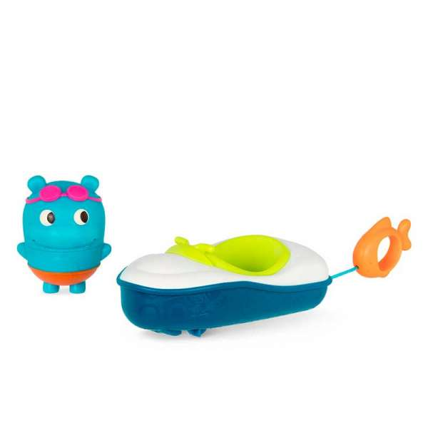 Іграшка для ванни - Бегемотик Плюх