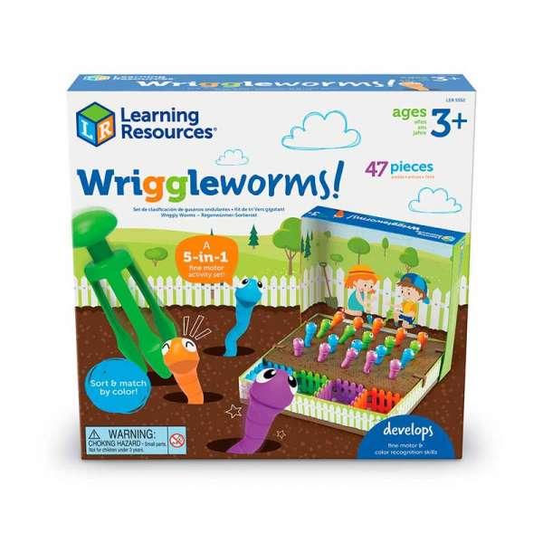 Навчальний ігровий набір-сортер Learning Resources - Впіймай черв'ячка