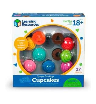 Навчальний ігровий набір-сортер Learning Resources - Капкейки