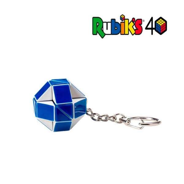 Міні-Головоломка Rubik's - Змійка Біло-Блакитна