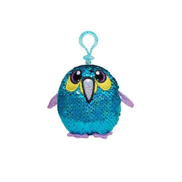 м'яка Іграшка з паєтками Shimmeez S2 - Бадьорий Пінгвін