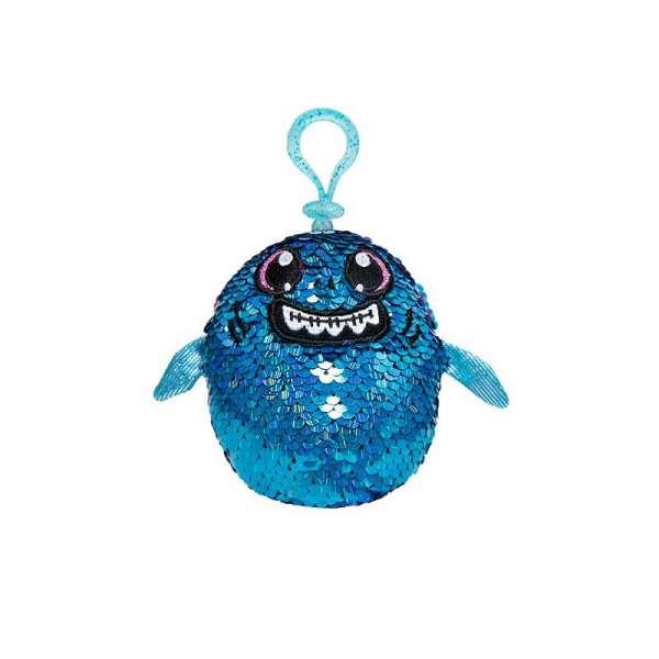 м'яка Іграшка з паєтками Shimmeez S2 - Акула Зубастик
