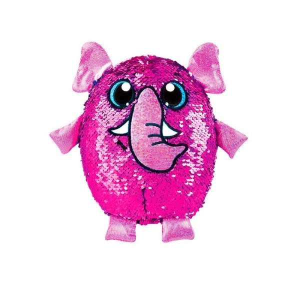 м'яка Іграшка з паєтками Shimmeez S2 - Слон Пінкі