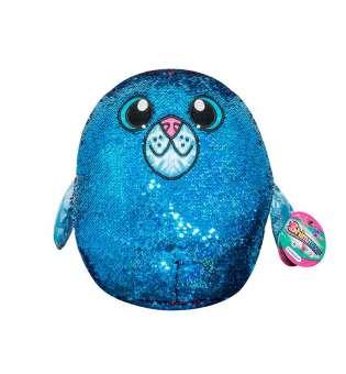 м'яка Іграшка з паєтками Shimmeez S2 - Тюлень Аква