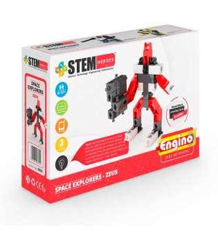 Конструктор Stem Heroes - Дослідження Космосу: Зевс