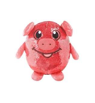 м'яка Іграшка з паєтками Shimmeez - Весела Свинка