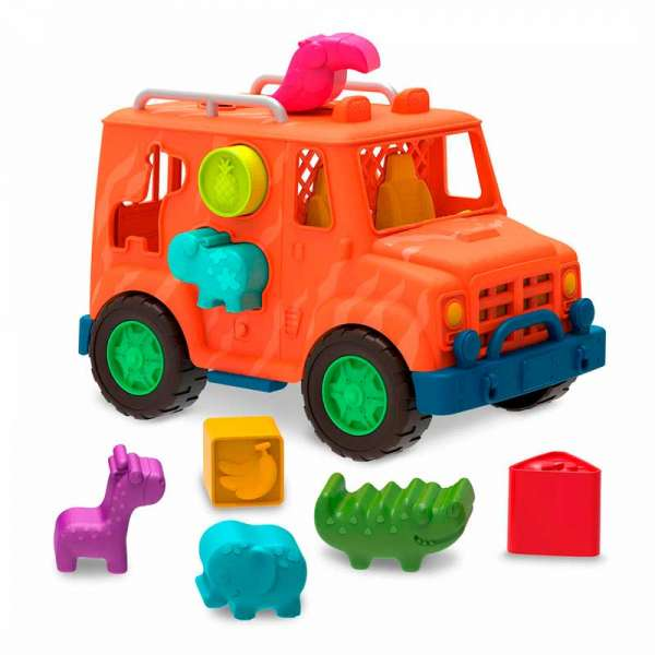 Ігровий набір-сортер - Вантажівка Сафарі