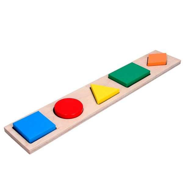 Дидактична рамка-вкладиш Геометричні фігури 5