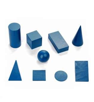 НабІр геометричних тіл та фігур D60 (9 елементів)