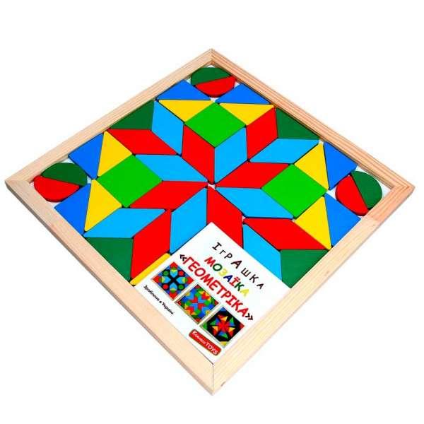 Мозаїка Геометріка 4 фігури, 48 елементів