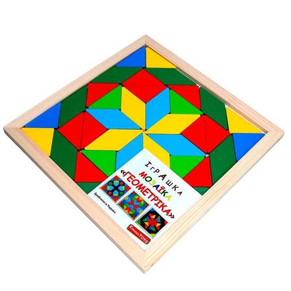 Мозаїка Геометріка 2 фігури, 40 елементів