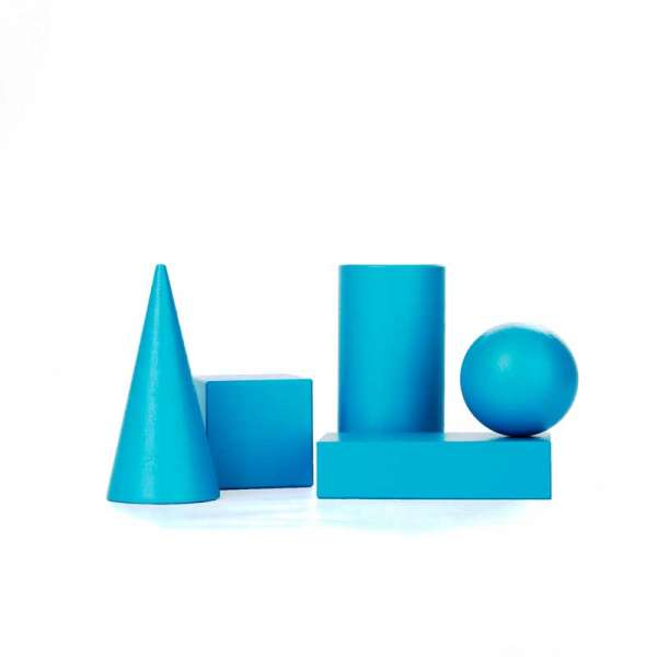 НабІр геометричних тіл D40 (5 елементів)