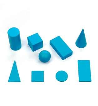 НабІр геометричних тіл та фігур D40 (9 елементів)
