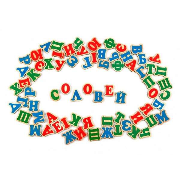 Набір. Українська абетка на магнітах 72 літери