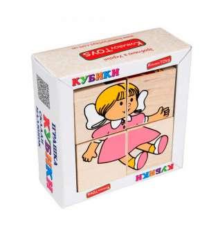 Набір кубиків Склади малюнок Іграшки 4шт.