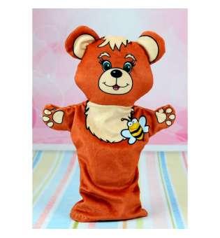 Іграшка на руку Рукавичка ведмедик 1