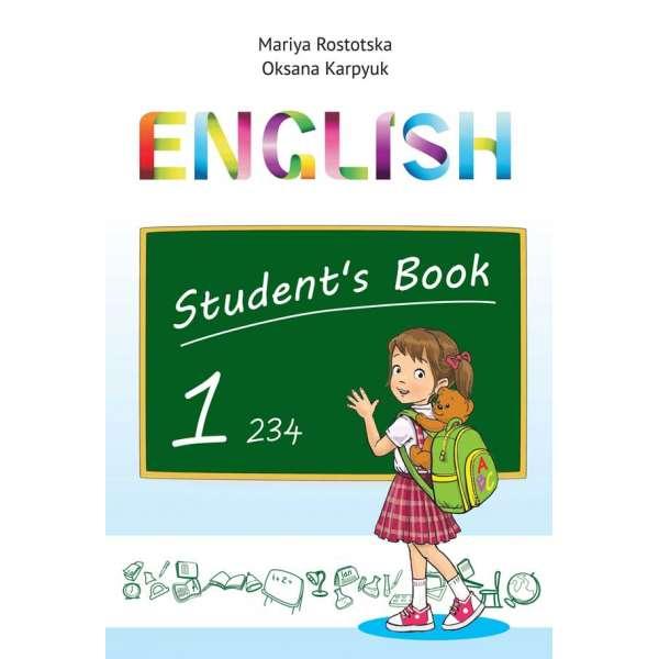 Підручник Англійська мова для 1 класу