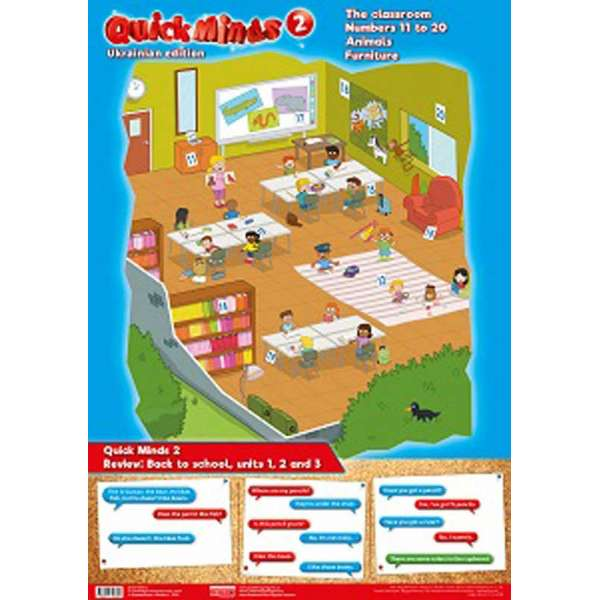 Quick Minds 2 Комплект плакатів 3 шт.