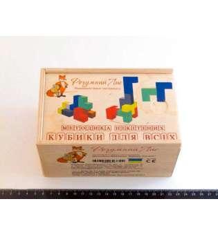 Іграшка за методикою Нікітіних Кубики для всіх