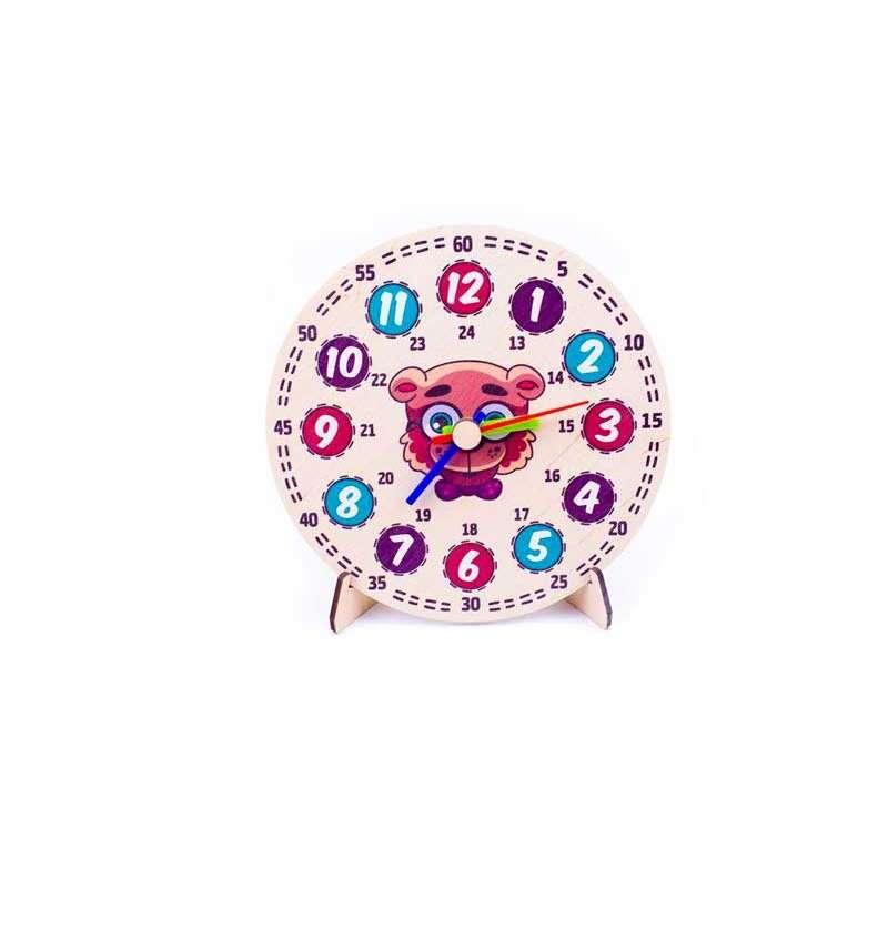 Модель демонстраційний годинник Ведмежа 20 см