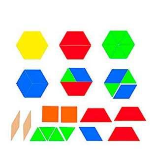 Демонстраційний набір геометричних фігур на магнітах