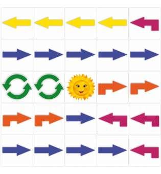 Набір магнітних карток для створення алгоритмів