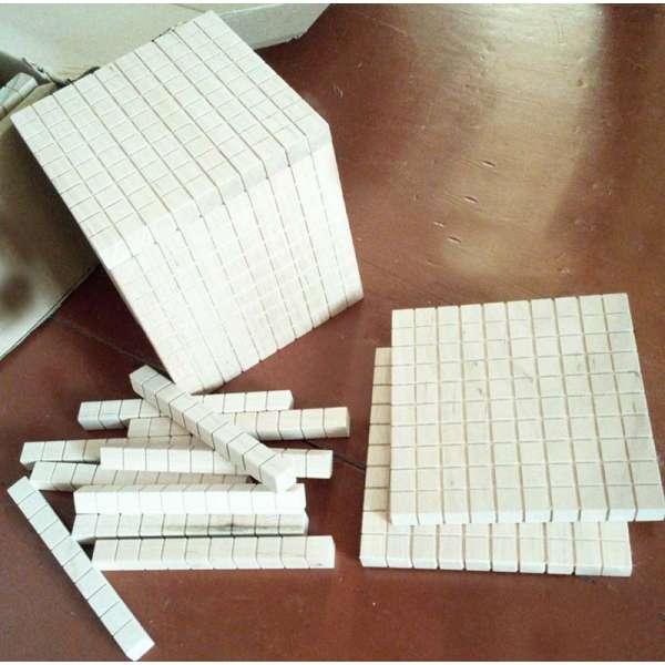 Квадрат сотенний (математичний куб) – великий демонстраційний набір від 1 до 1000