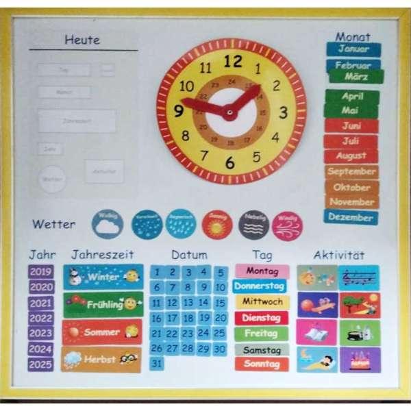 Магнітний календар (німецька мова)