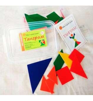 Набір для навчання Танграм - 105 елементів