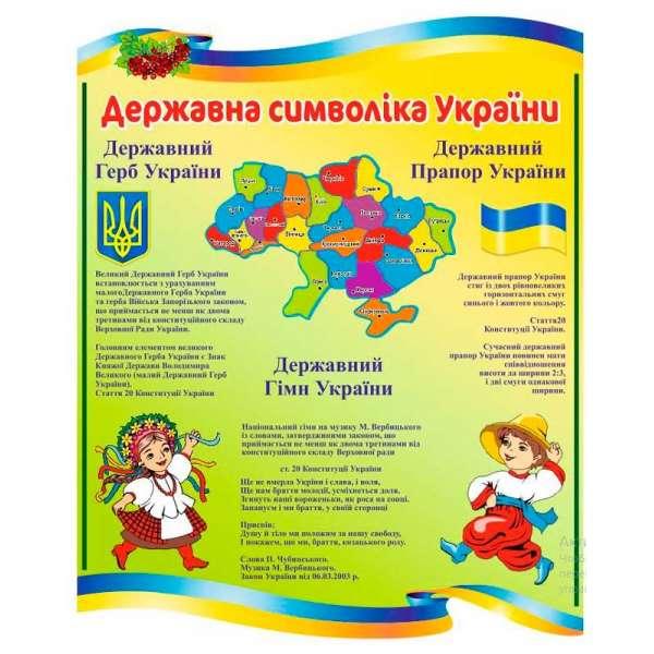 Стенд Державні символи України Калина