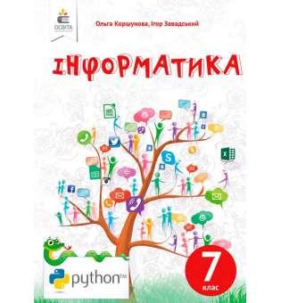 Інформатика, 7 кл. (НОВА ПРОГРАМА-2020)