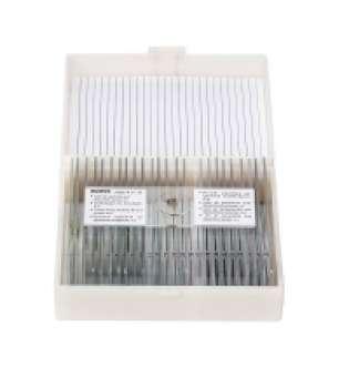 Набір мікропрепаратів KONUS Біологія: Клітини і тканини тварин (25 шт.)